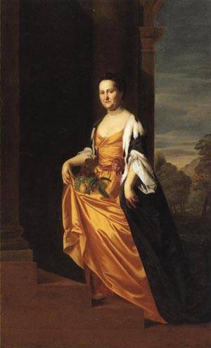 Mrs. Jeremiah Lee | John Singleton Copley 1769 | oil painting