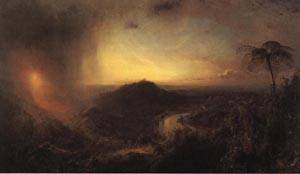Vale of St. Thomas Jamaica | Frederic Edwin Church 1867 | oil painting