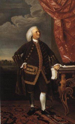 Jeremiah Lee | John Singleton Copley 1769 | oil painting