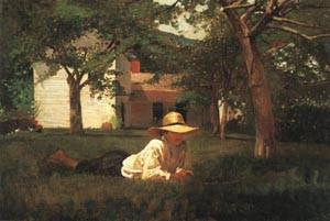 The Nooning | Winslow Homer 1872 | oil painting