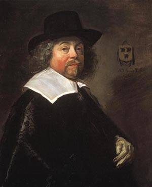 Portrait of Joseph Coymans | Frans Hals 1644 | oil painting