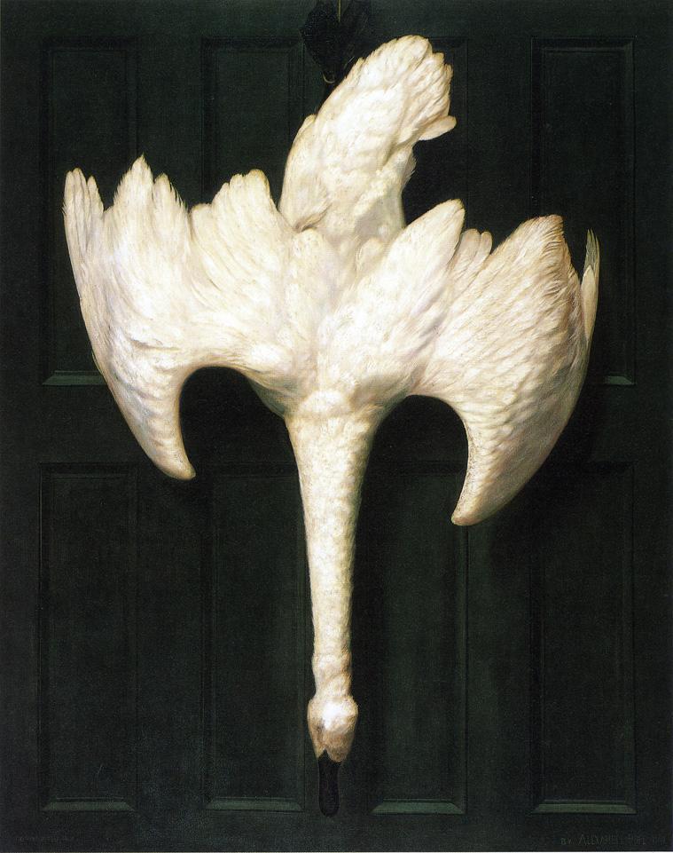 TheTrumpeterSwan1900 | AlexanderPope | oil painting