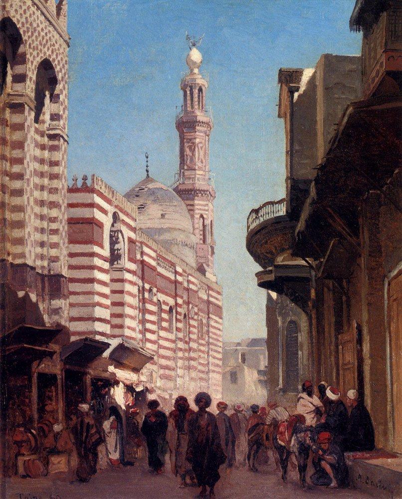 Cairo 1860 | Alberto Pasini | oil painting