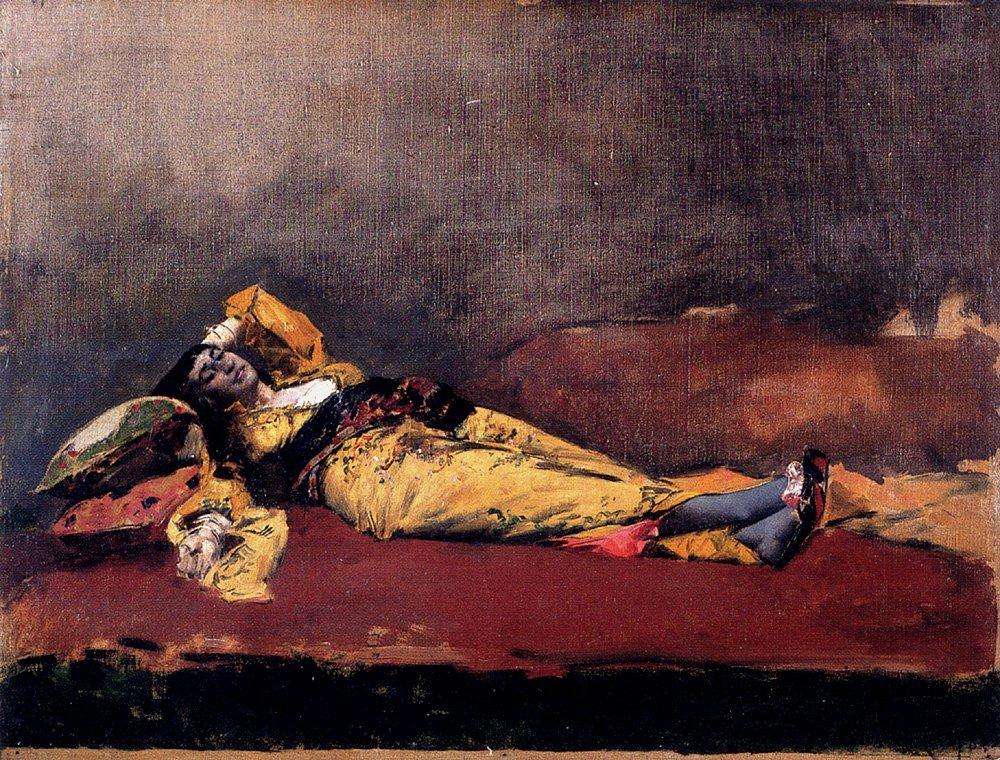 Almea Color Arancio 1878 | Alberto Pasini | oil painting