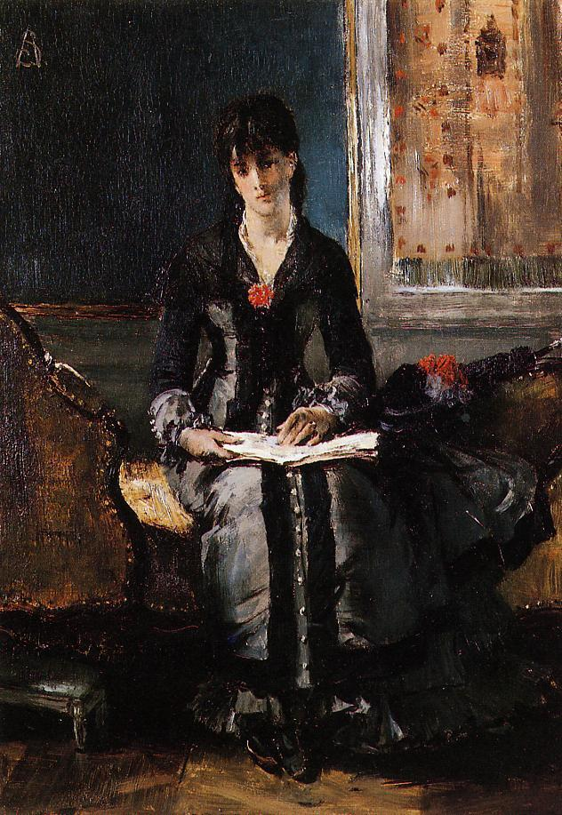 Portrait of a Young Woman | Alfred Stevens | oil painting