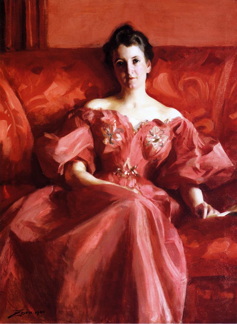 Portrait of Mrs Howe | Alfred Stevens | oil painting