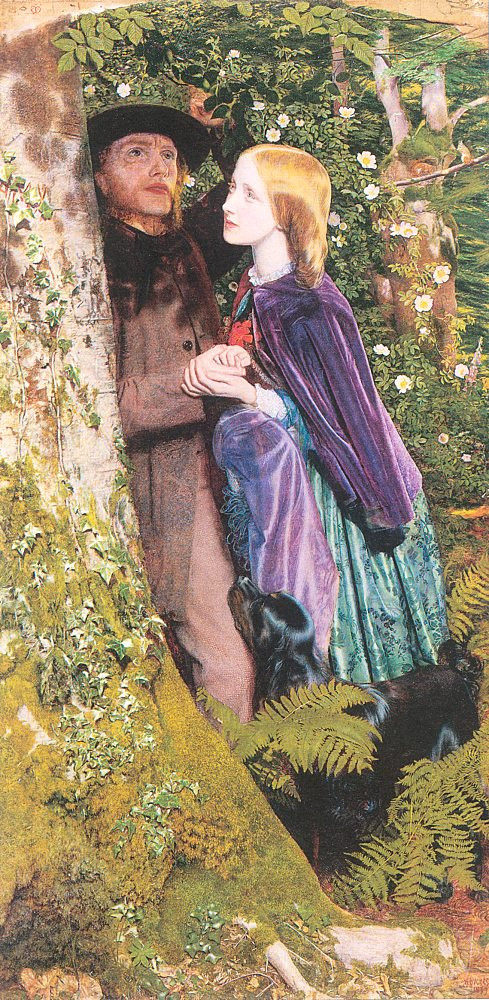 The Long Engagement 1853 1859 | Arthur Hughes | oil painting