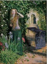 Fair Rosamond 1854 1857 | Arthur Hughes | oil painting