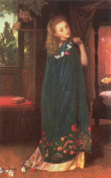Good Night later version 1865 1866 | Arthur Hughes | oil painting