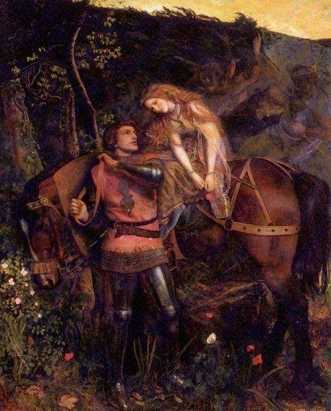 La Belle Dame Sans Merci 1861 1863 | Arthur Hughes | oil painting