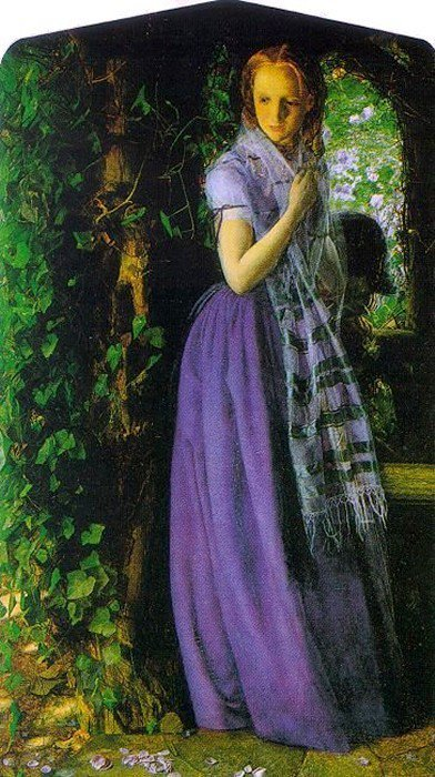 April Love 1855 1856 | Arthur Hughes | oil painting