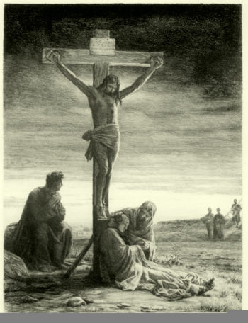 Crucifixion of Christ | Carl Heinrich Bloch | oil painting