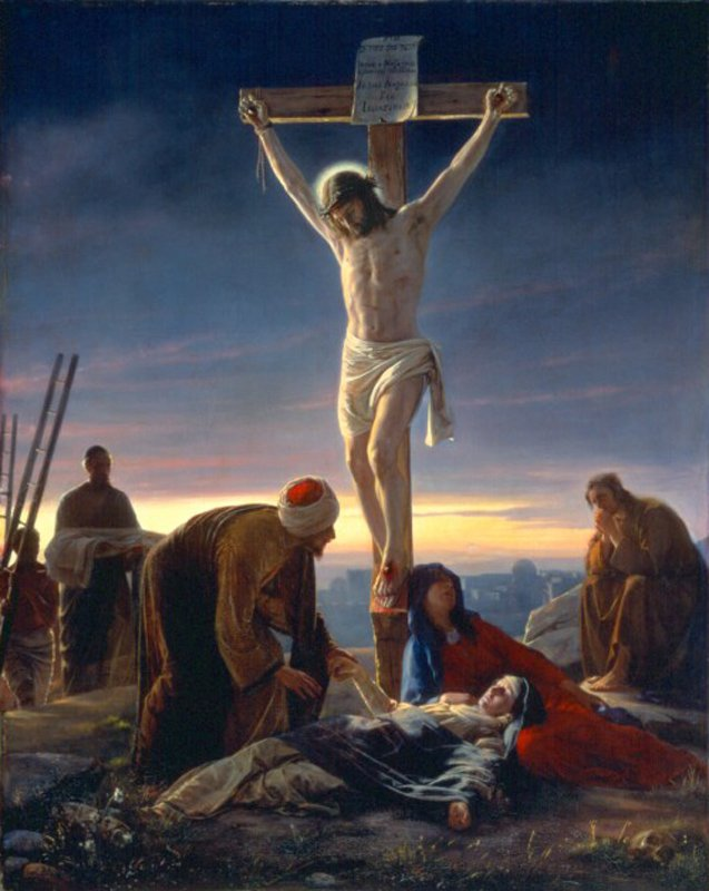 The Crucifixion | Carl Heinrich Bloch | oil painting