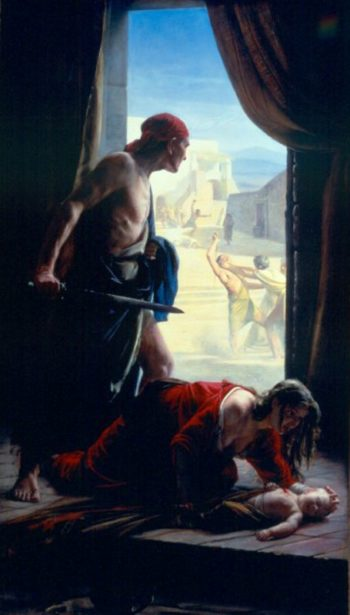 The Slaughter of the Innocents | Carl Heinrich Bloch | oil painting