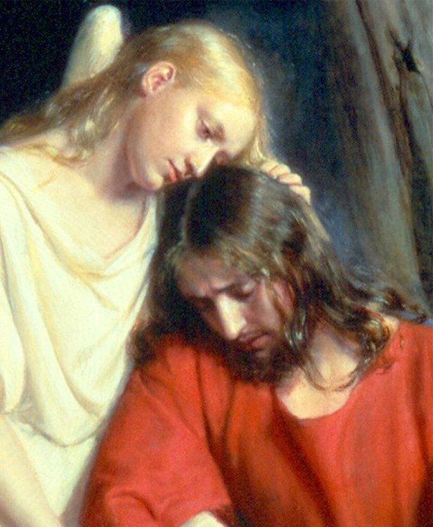 Christ at Gethsemane | Carl Heinrich Bloch | oil painting