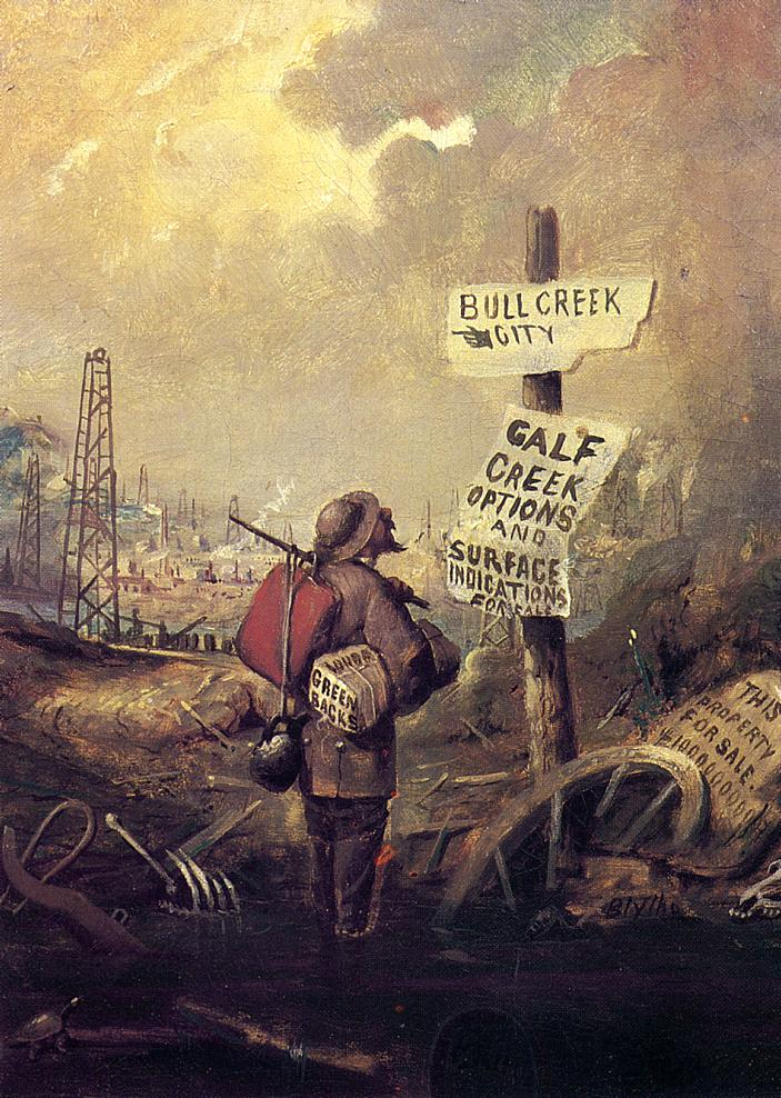 Prospecting 1861 1863 | David Gilmore Blythe | oil painting