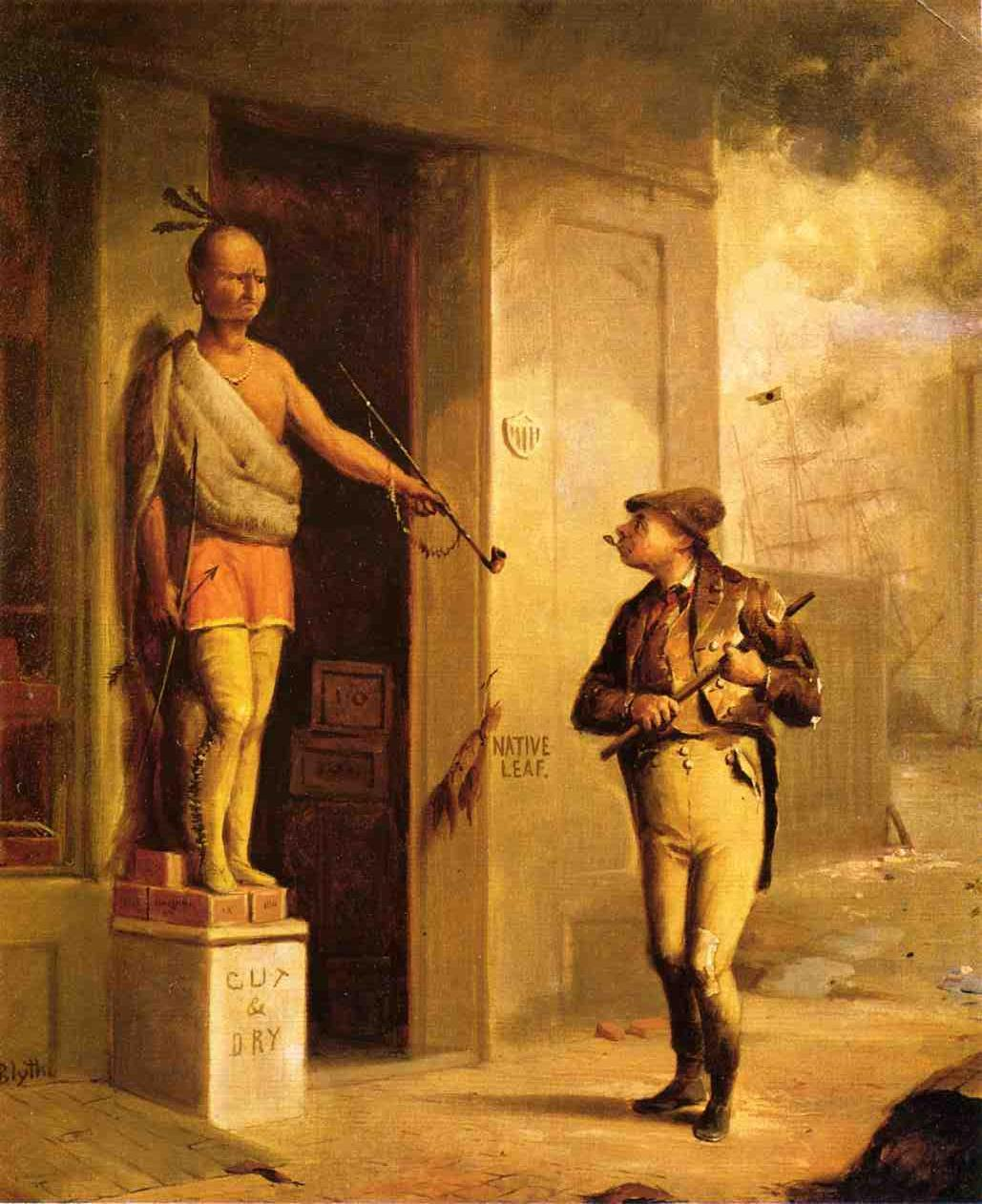 Land of Liberty 1859 | David Gilmore Blythe | oil painting