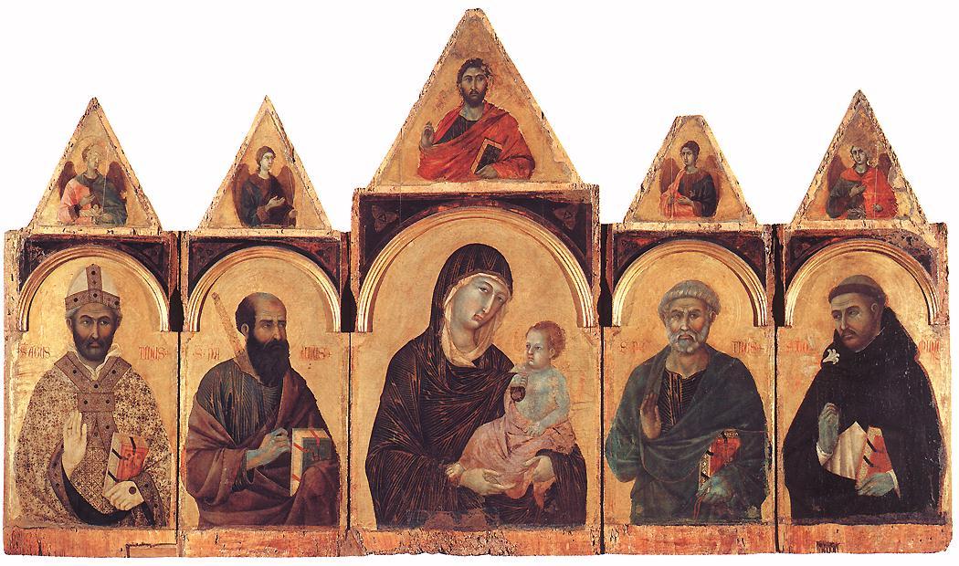 Polyptych No 28 | Duccio di buoninsegna | oil painting