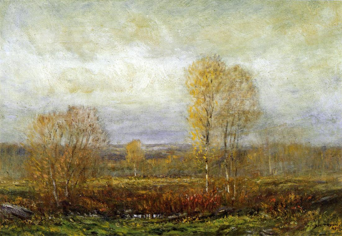 Autumn Day 1911 | Dwight Tyron | oil painting