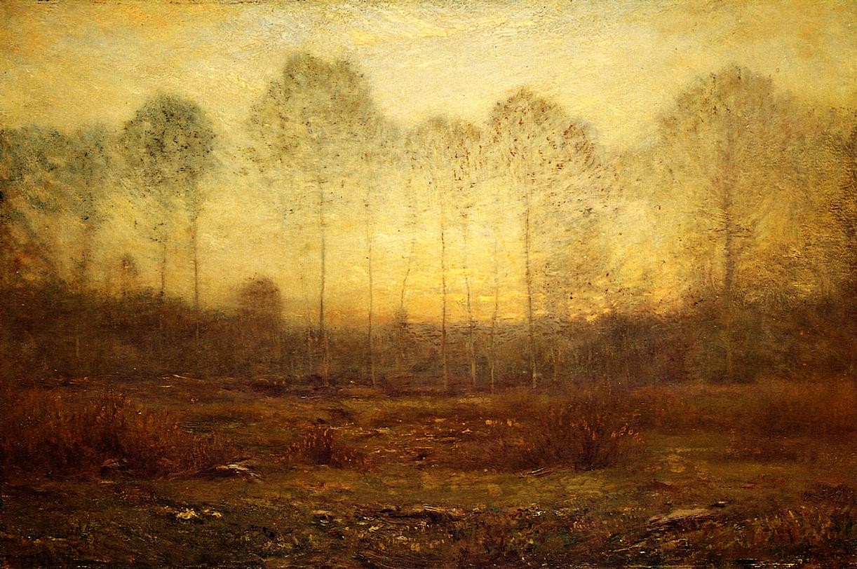 Evening Fog 1905 | Dwight Tyron | oil painting