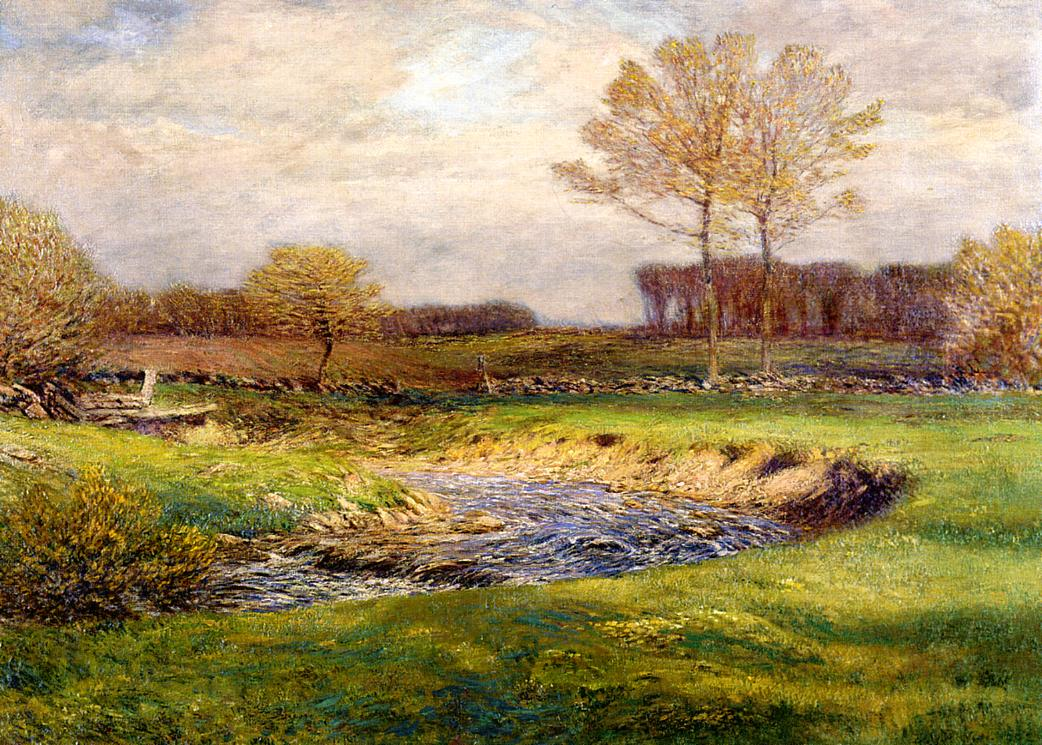 The Brook in May 1902 | Dwight Tyron | oil painting