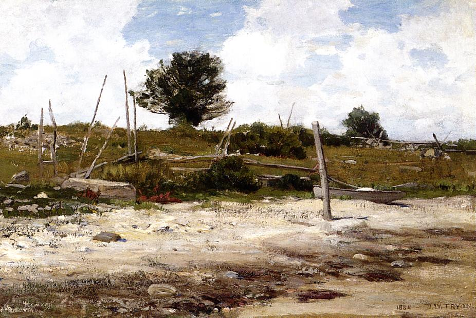 Coastal Landscape 1884 | Dwight Tyron | oil painting
