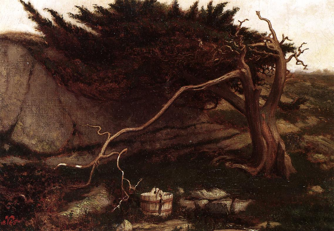 The Lonely Spring 1865 | Elihu Vedder | oil painting