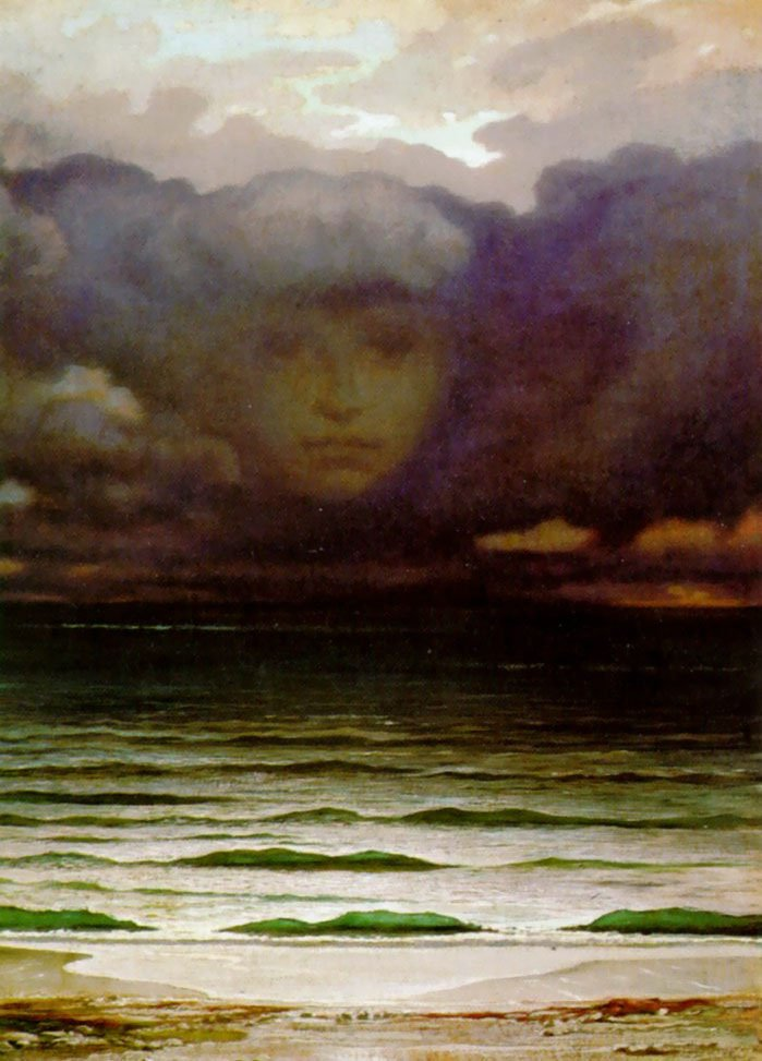 Memory 1870 | Elihu Vedder | oil painting