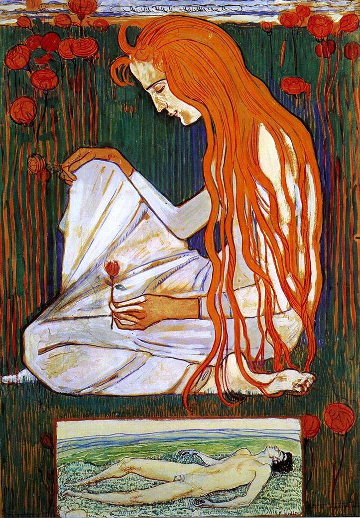The Dream Date unknown | Ferdinand Hodler | oil painting