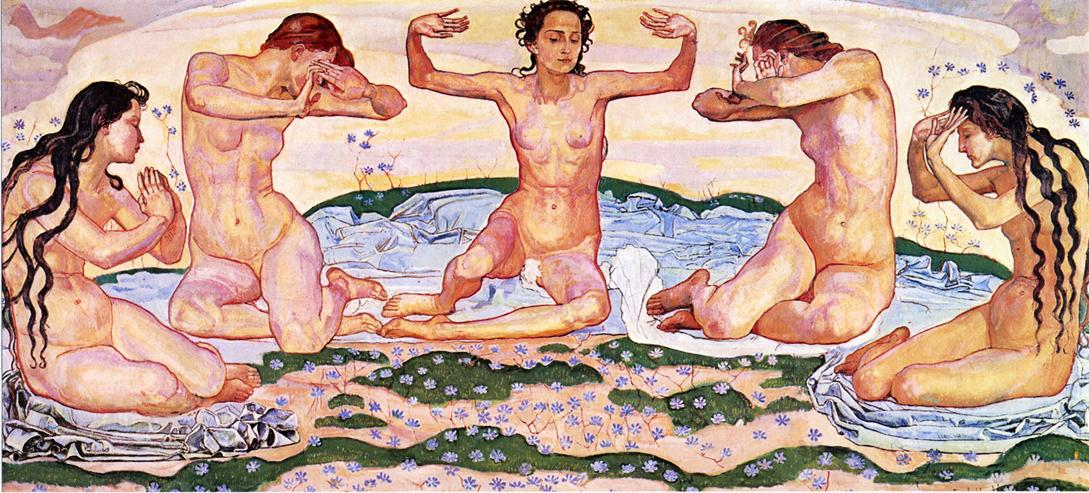 Day | Ferdinand Hodler | oil painting