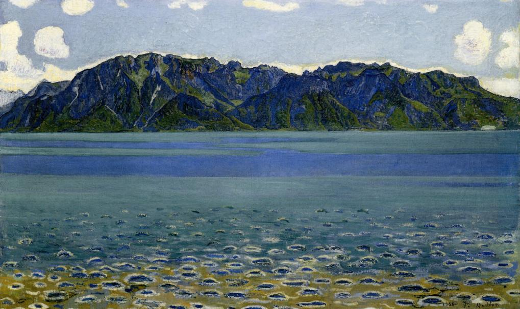 Grammont | Ferdinand Hodler | oil painting