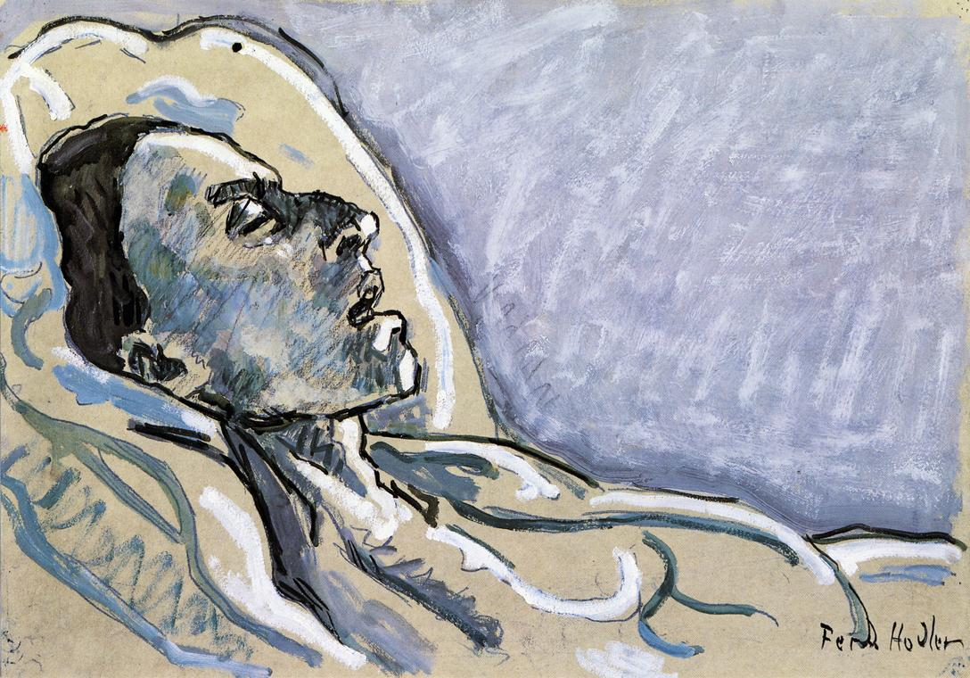 The Dying Valentine Gode Darel Date unknown | Ferdinand Hodler | oil painting