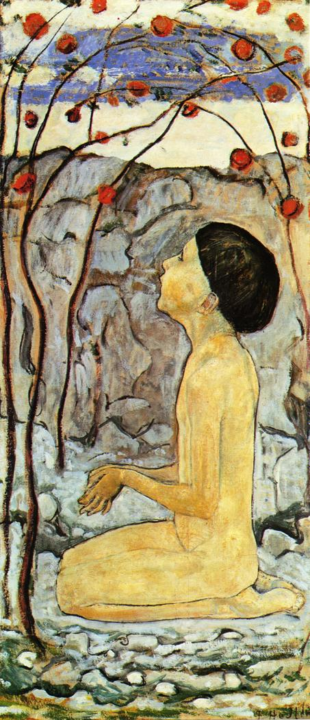 Adoration (III) | Ferdinand Hodler | oil painting
