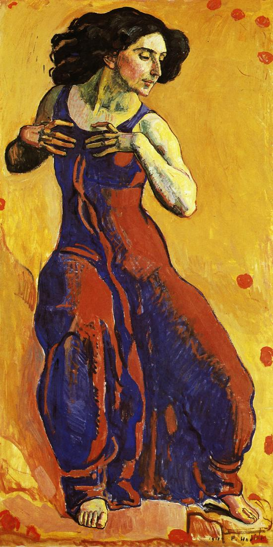 Woman in Ecstasy Date unknown | Ferdinand Hodler | oil painting