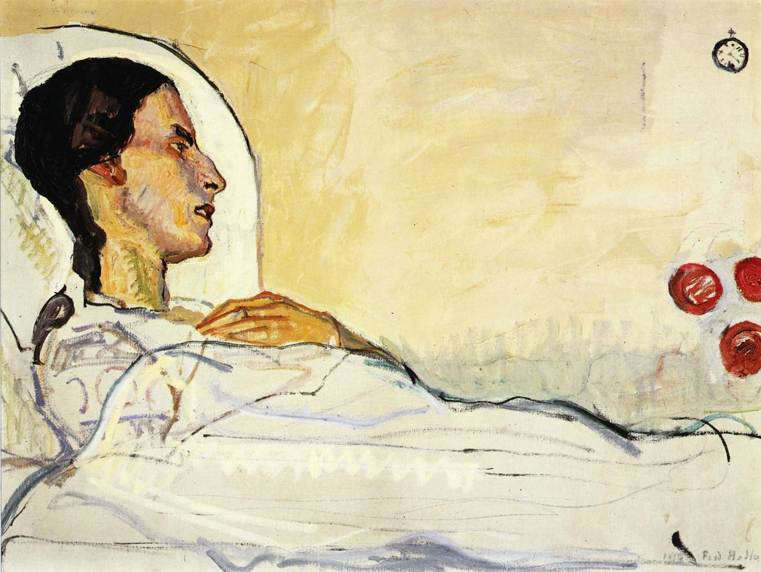 The Sick Valentine Gode Darel Date unknown | Ferdinand Hodler | oil painting