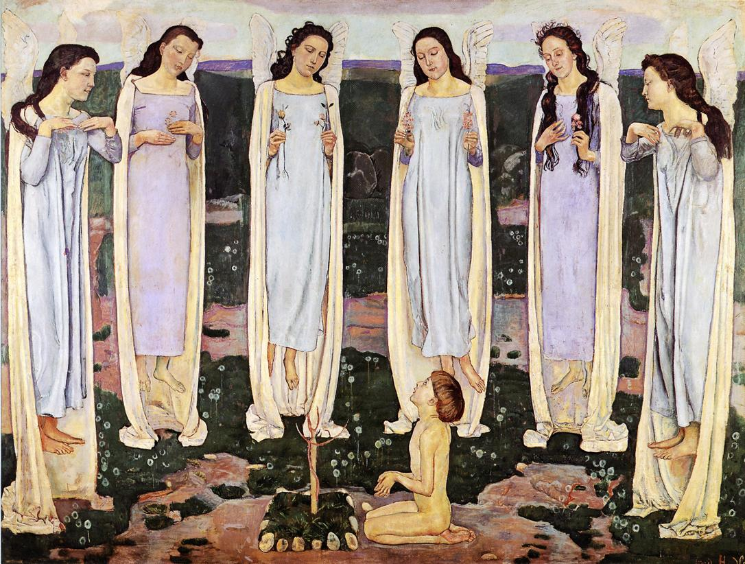 The Consecrated One Date unknown | Ferdinand Hodler | oil painting