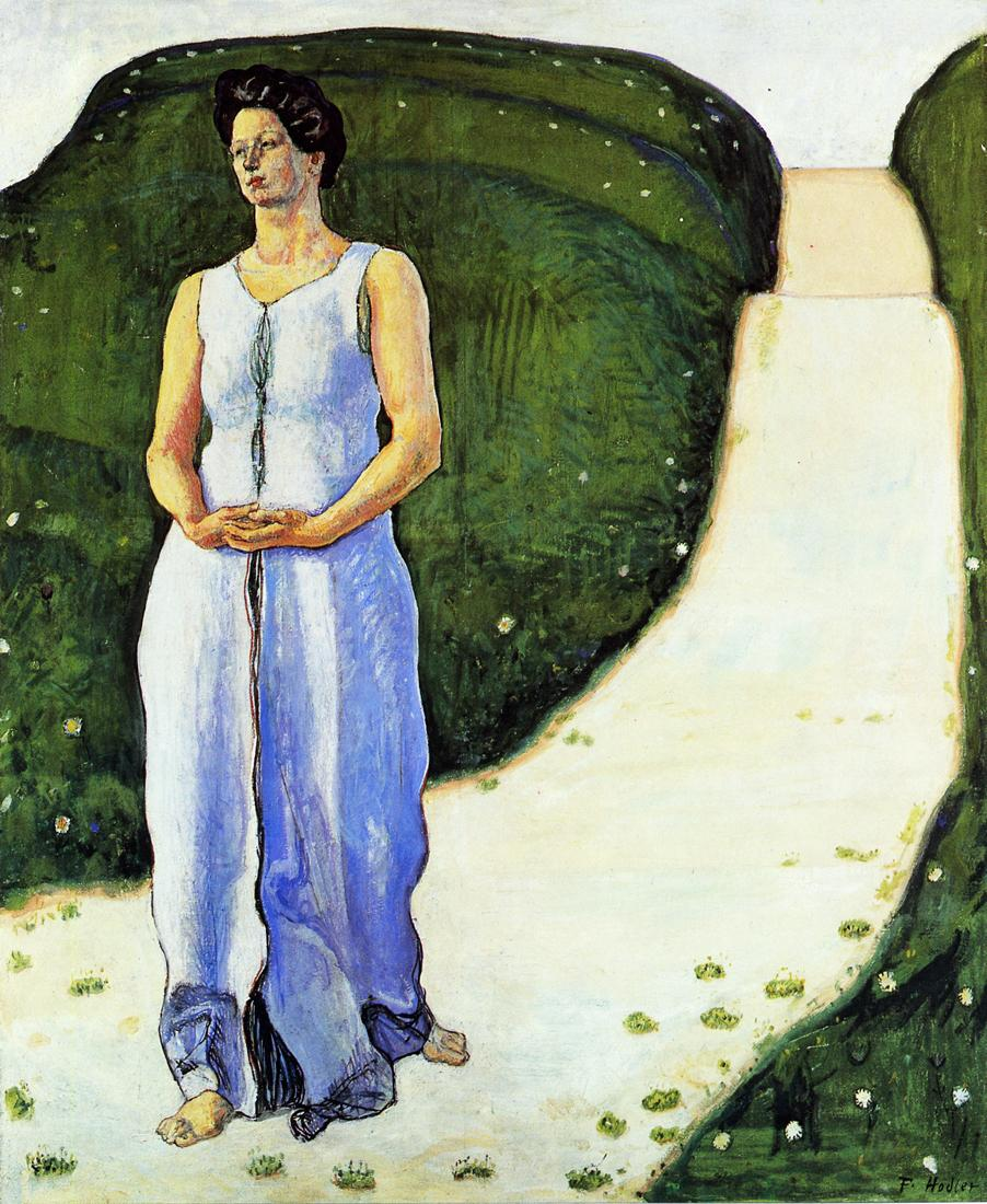 Silence of the Evening Date unknown | Ferdinand Hodler | oil painting