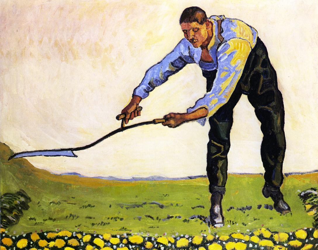 The Reaper Date unknown | Ferdinand Hodler | oil painting