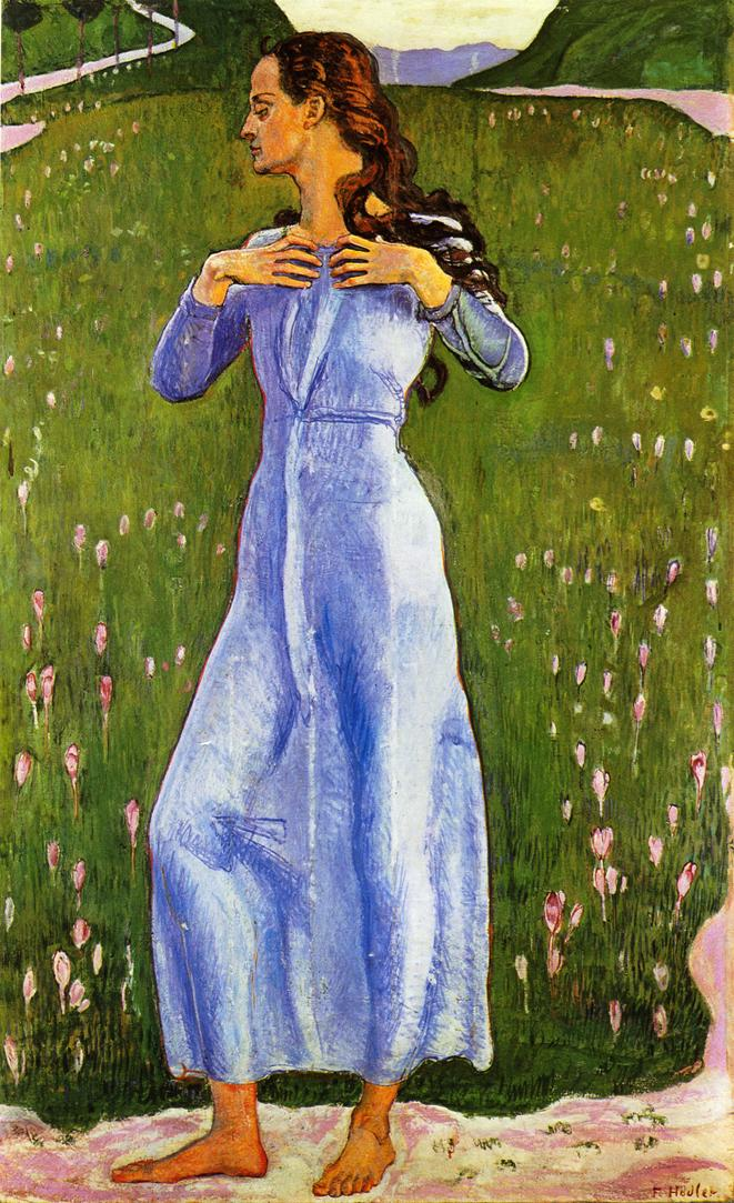 Emotion | Ferdinand Hodler | oil painting