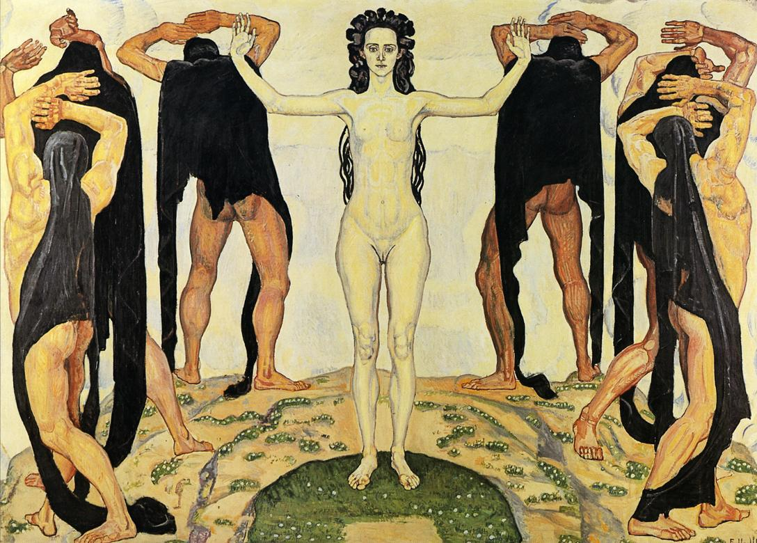 Truth (II) Date unknown | Ferdinand Hodler | oil painting
