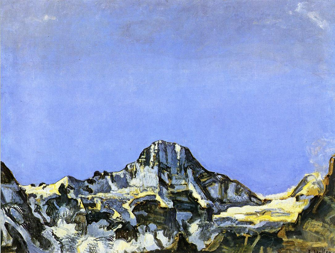 The Breithorn Date unknown | Ferdinand Hodler | oil painting