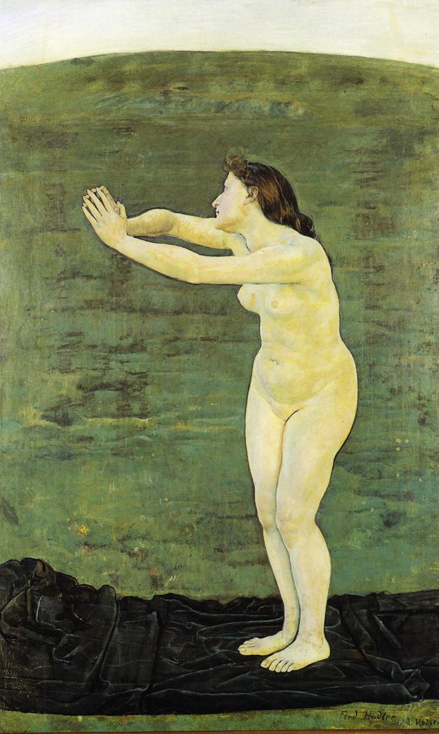 Commnion with Infinity | Ferdinand Hodler | oil painting