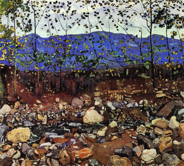 Forest Stream   Ferdinand Hodler   oil painting