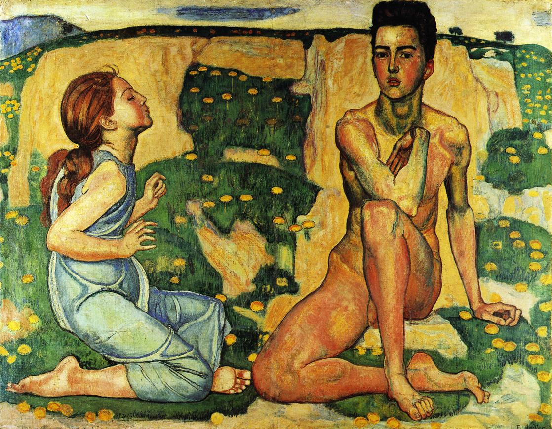 Spring Date unknown | Ferdinand Hodler | oil painting