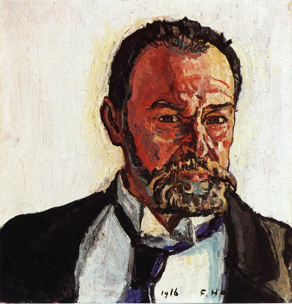 Self Portrait Date unknown | Ferdinand Hodler | oil painting