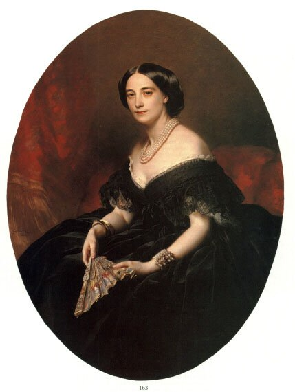 Portrait of a Lady 1860 | Franz Xavier Winterhalter | oil painting