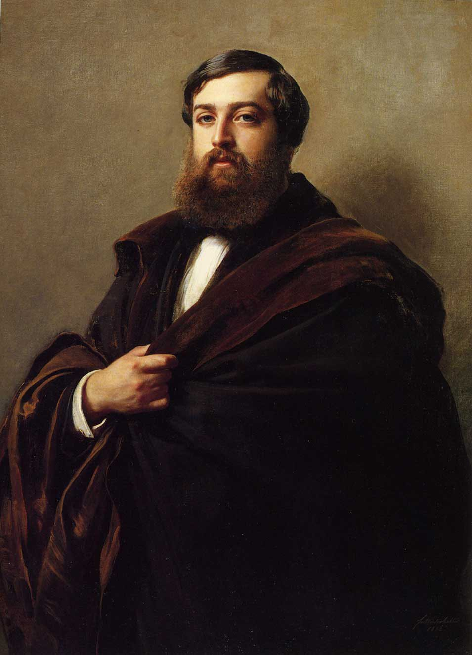 Alfred Emilien Comte de Nieuwerkerke 1852 | Franz Xavier Winterhalter | oil painting