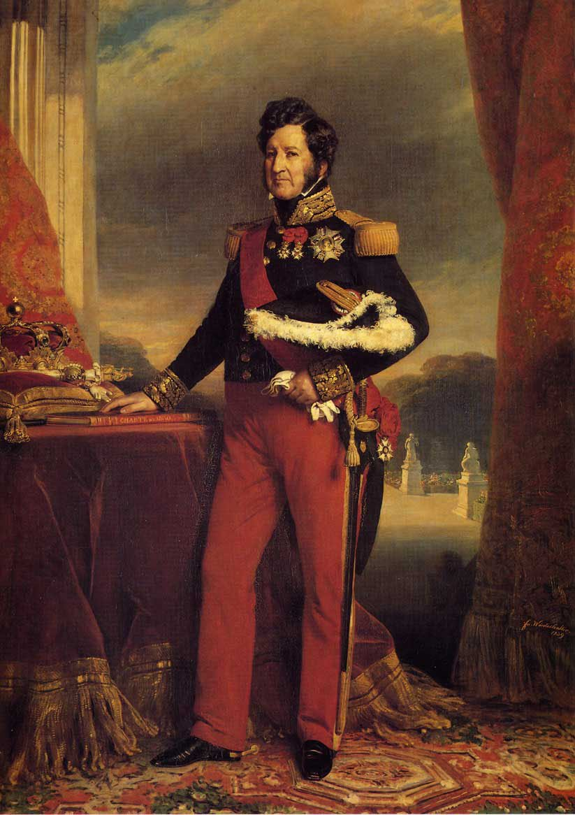 King Louis Philippe 1839 | Franz Xavier Winterhalter | oil painting