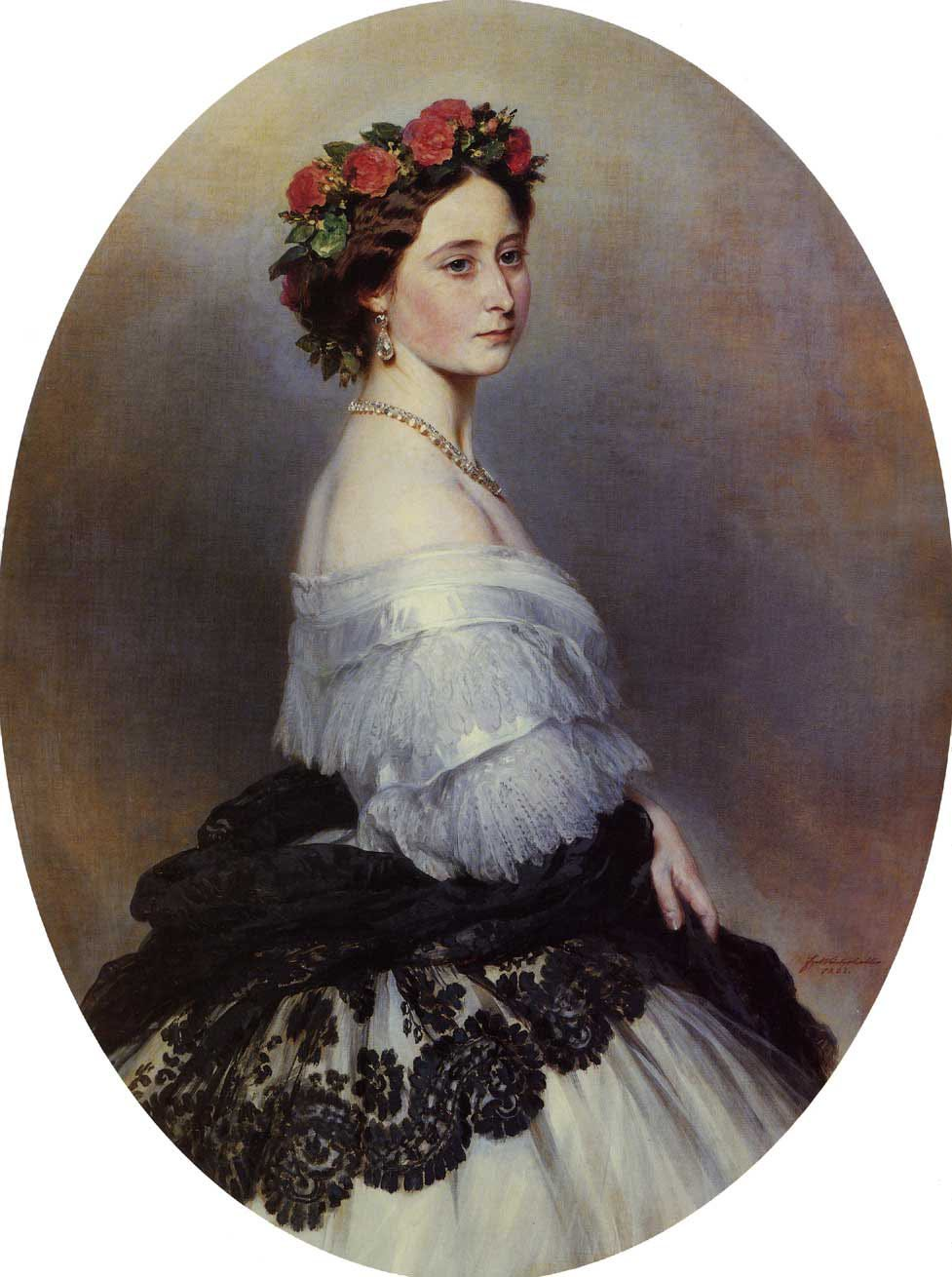 Princess Alice 1861 | Franz Xavier Winterhalter | oil painting