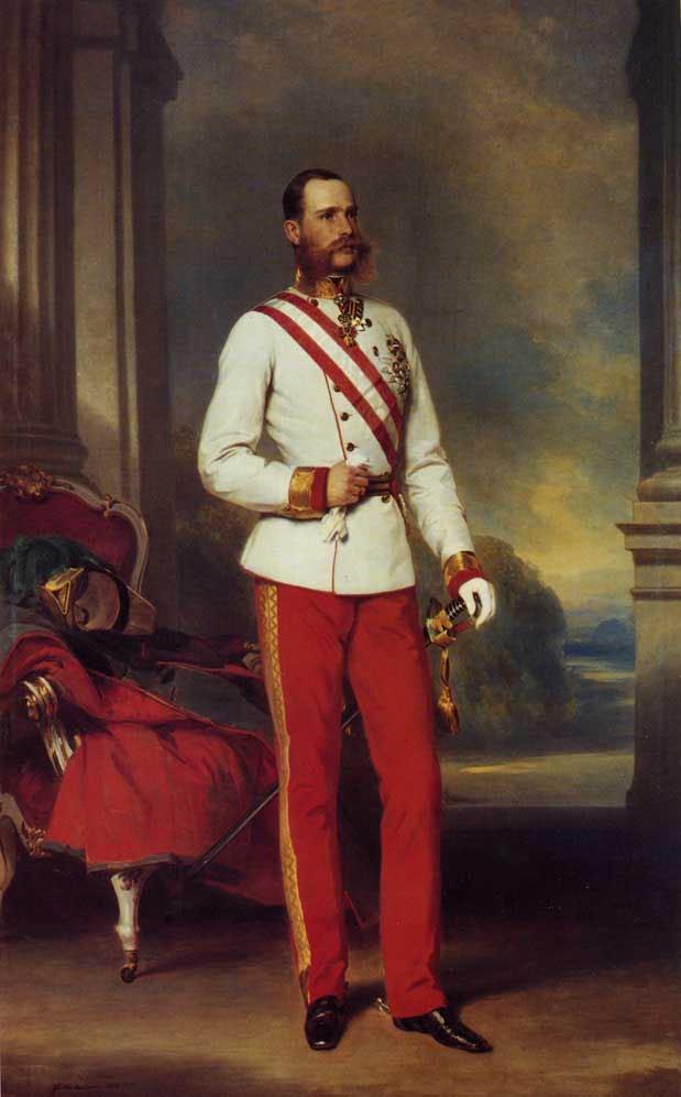 Franz Joseph I Emperor of Austria 1865 | Franz Xavier Winterhalter | oil painting